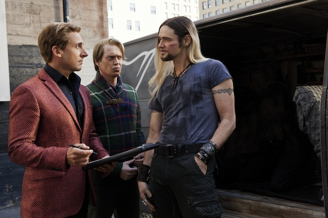 Steve Carell, Steve Buscemi and Jim Carrey in THE INCREDIBLE BURT WONDERSTONE