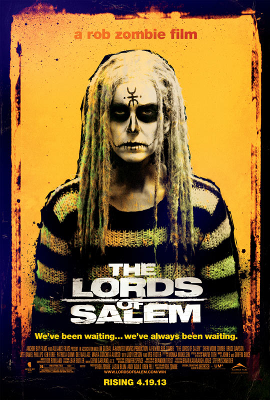 THE LORDS OF SALEM Final Theatrical One Sheet