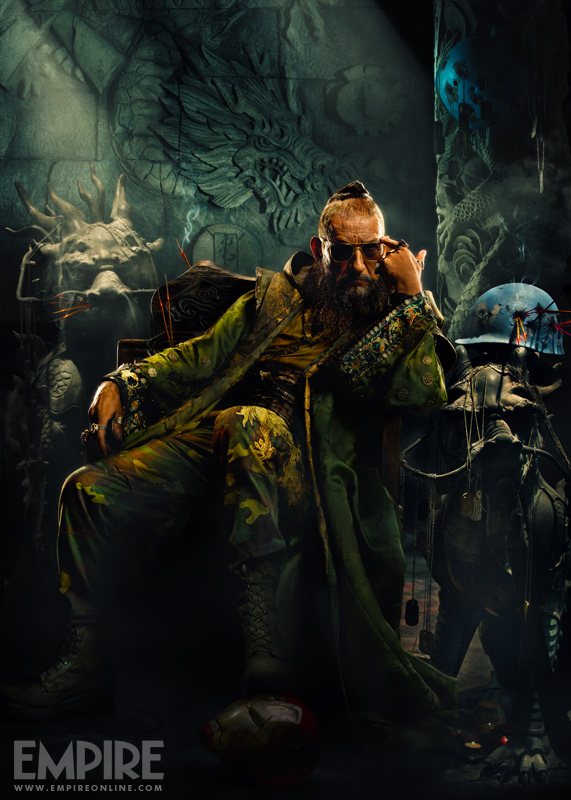 The Mandarin IRON MAN 3 Uncropped Art