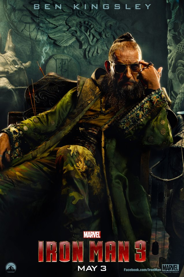 The Mandarin IRON MAN 3 Character Poster