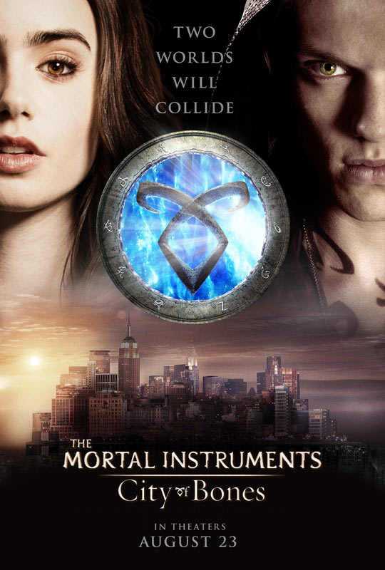 THE MORTAL INSTRUMENTS: CITY OF BONES Teaser One Sheet