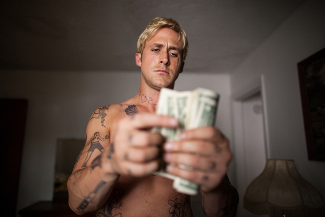 Ryan Gosling as Luke Glanton in THE PLACE BEYOND THE PINES