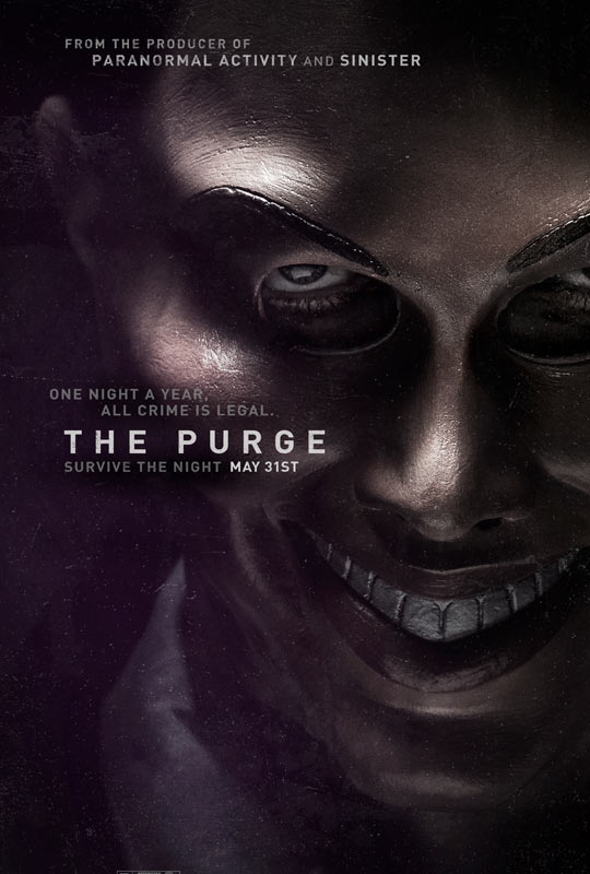 THE PURGE Teaser One Sheet