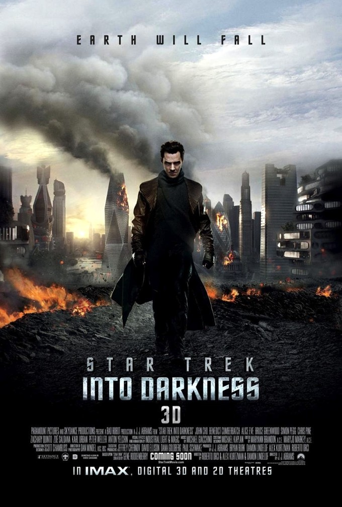 trek into darkness international poster