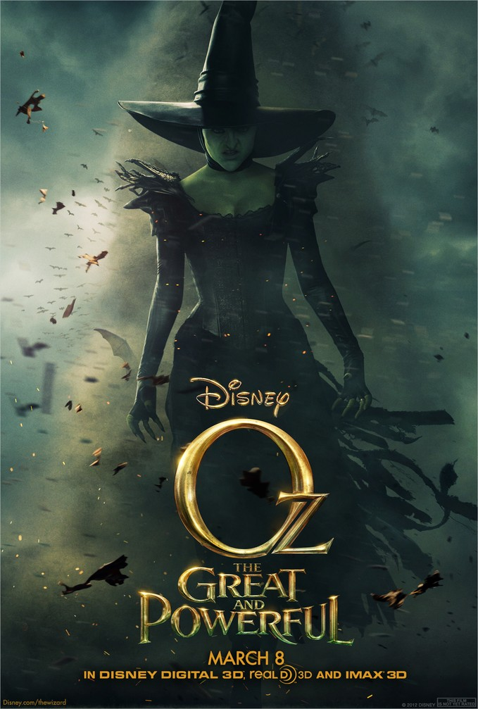 disney oz poster witch