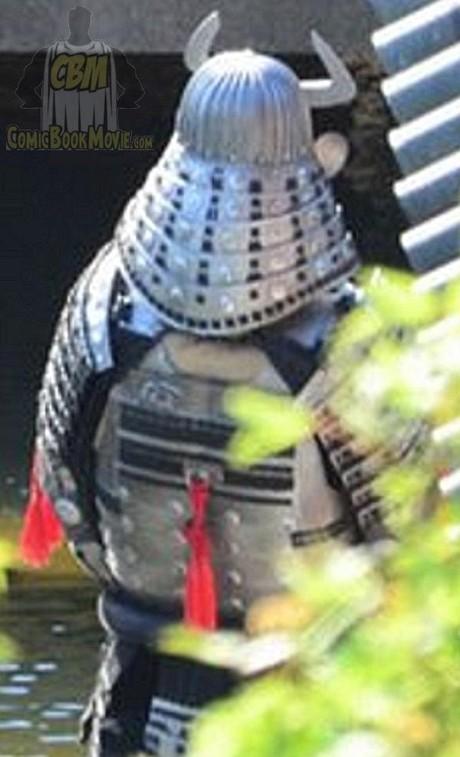 Silver Samurai's back