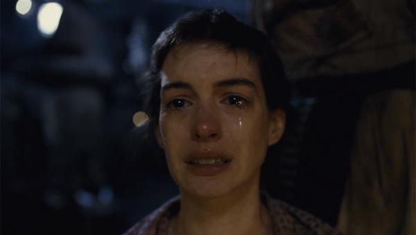 Anne Hathaway Sad