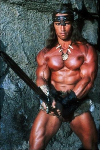 Arnold Schwarzenegger Conan