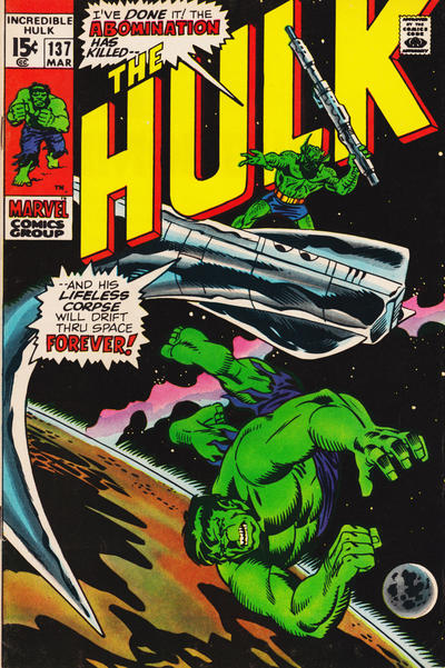 Hulk In Space