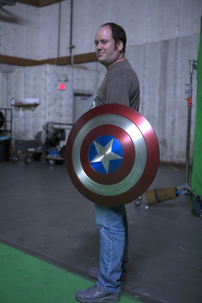 Jeremy Smith Captain America Shield