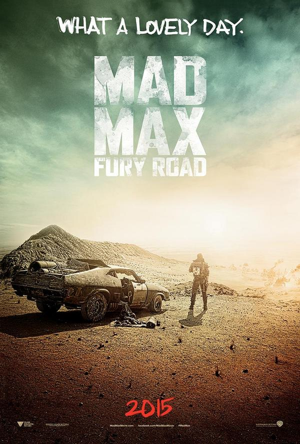 Mad Max Fury Road Teaser Poster