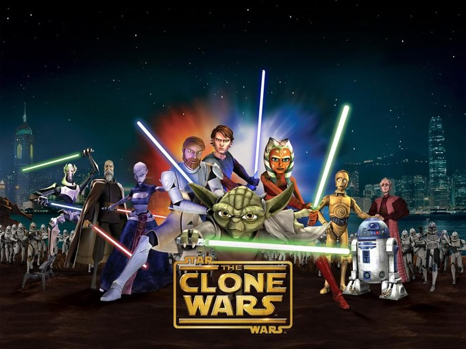 STAR WARS: The Clone Wars art