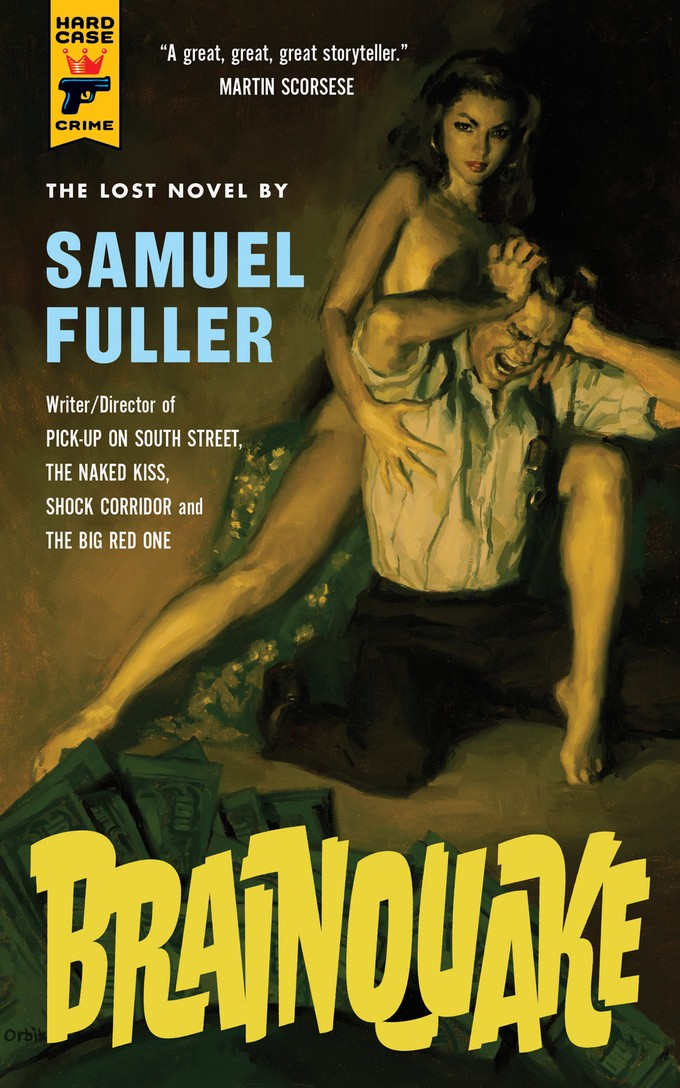 BRAINQUAKE by Samuel Fuller - cover