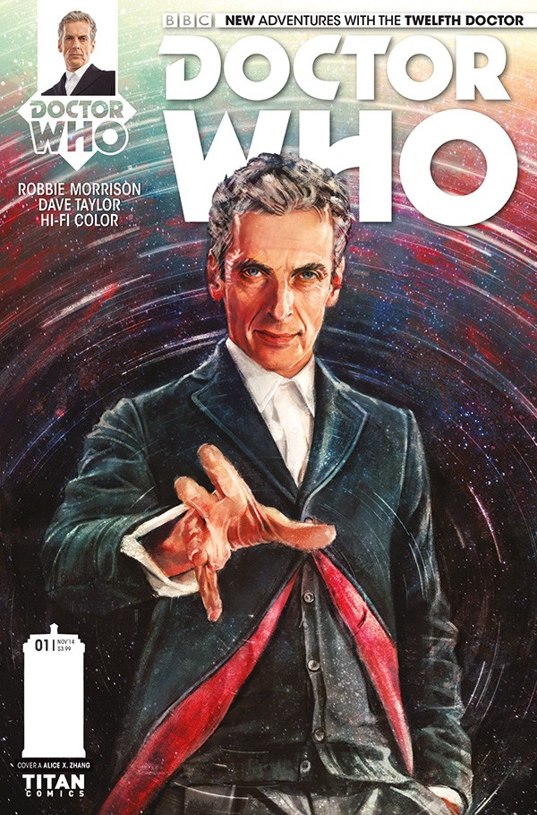 DOCTOR WHO comic cover A