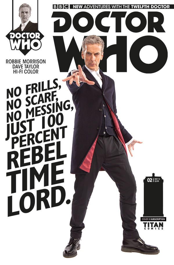 DOCTOR WHO comic cover B