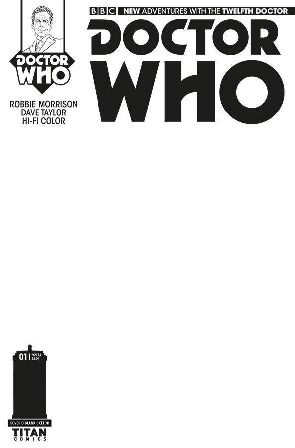 DOCTOR WHO comic cover C