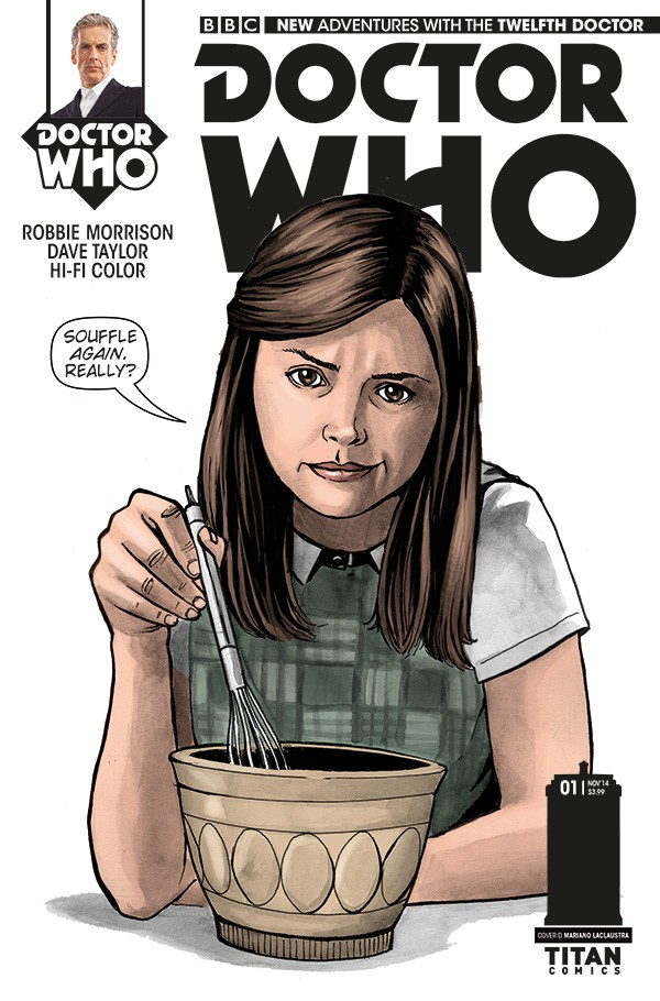 DOCTOR WHO comic cover D
