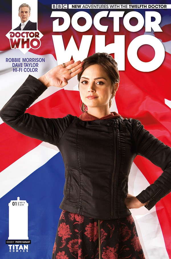 DOCTOR WHO comic cover