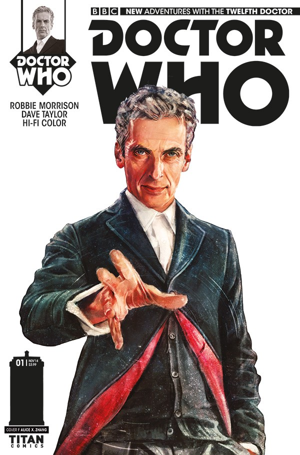 DOCTOR WHO comic cover F