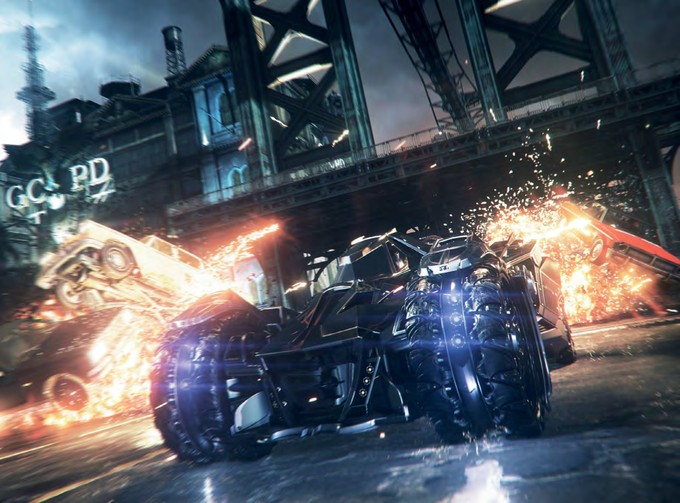 BATMAN: ARKHAM KNIGHT game shot