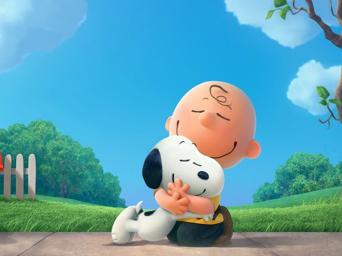 PEANUTS movie promo image - USA Today