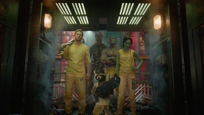 GUARDIANS OF THE GALAXY image from James Gunn