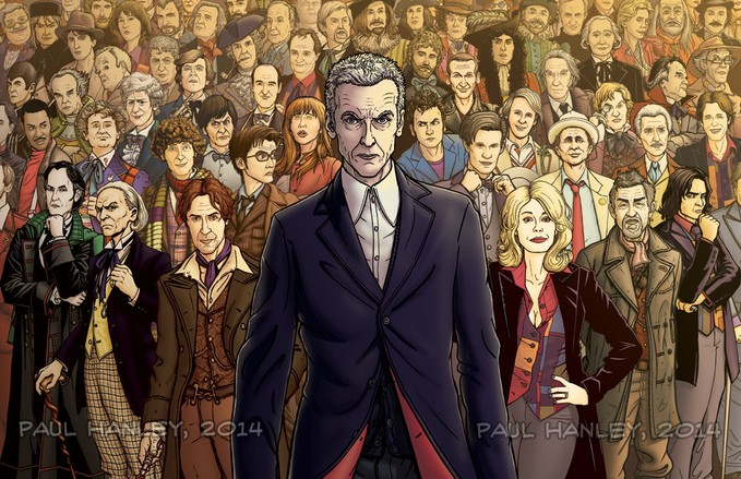 DOCTOR WHO - Infinite Doctors - Paul Hanley