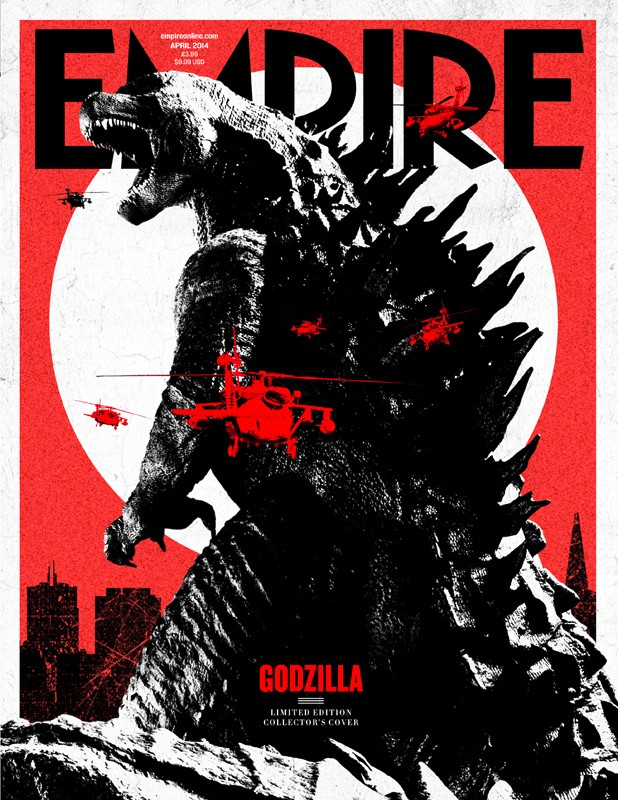 GODZILLA - Empire subscriber cover