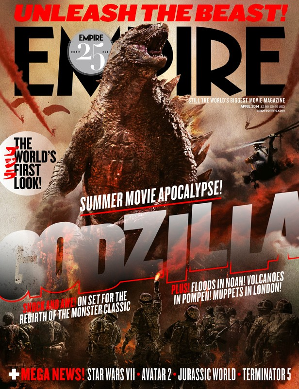 Empire's GODZILLA cover