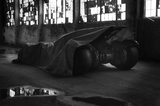 MOS 2 Batmobile tease