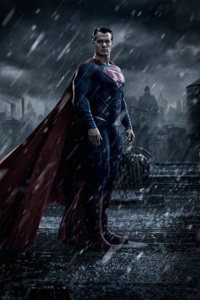 Cavill as Superman in DAWN OF JUSTICE