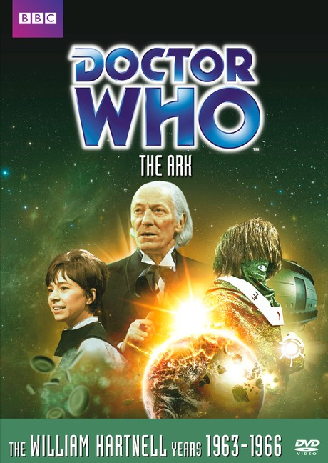 DOCTOR WHO: The Ark DVD cover