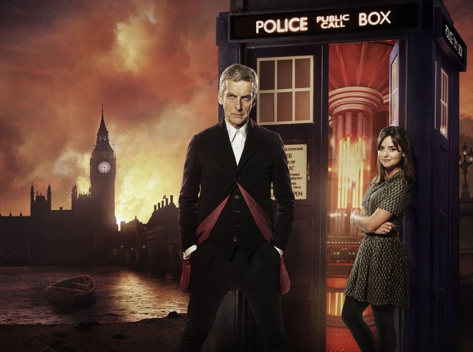 DOCTOR WHO S8 - Deep Breath - promo art