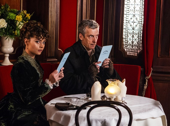 DOCTOR WHO S8 - Deep Breath - Capaldi / Coleman