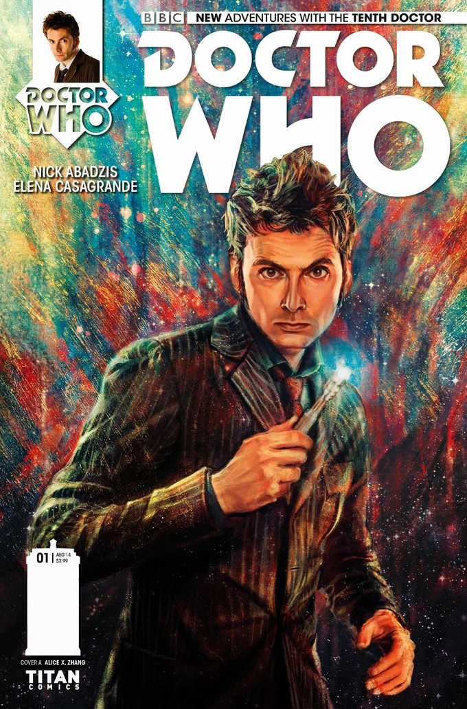 DOCTOR WHO 10th Doctor Comic - Titan
