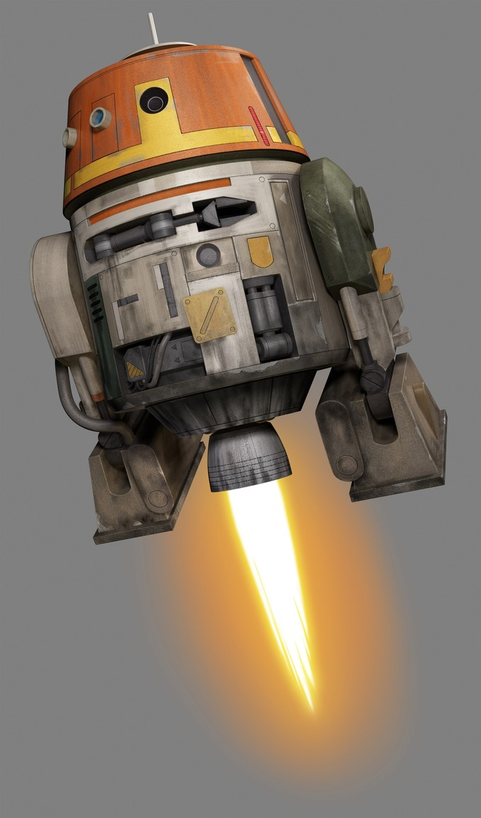 STAR WARS REBELS - 'Chopper'