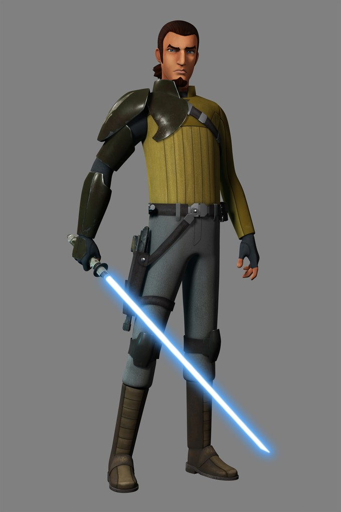 STAR WARS REBELS Kanan concept art