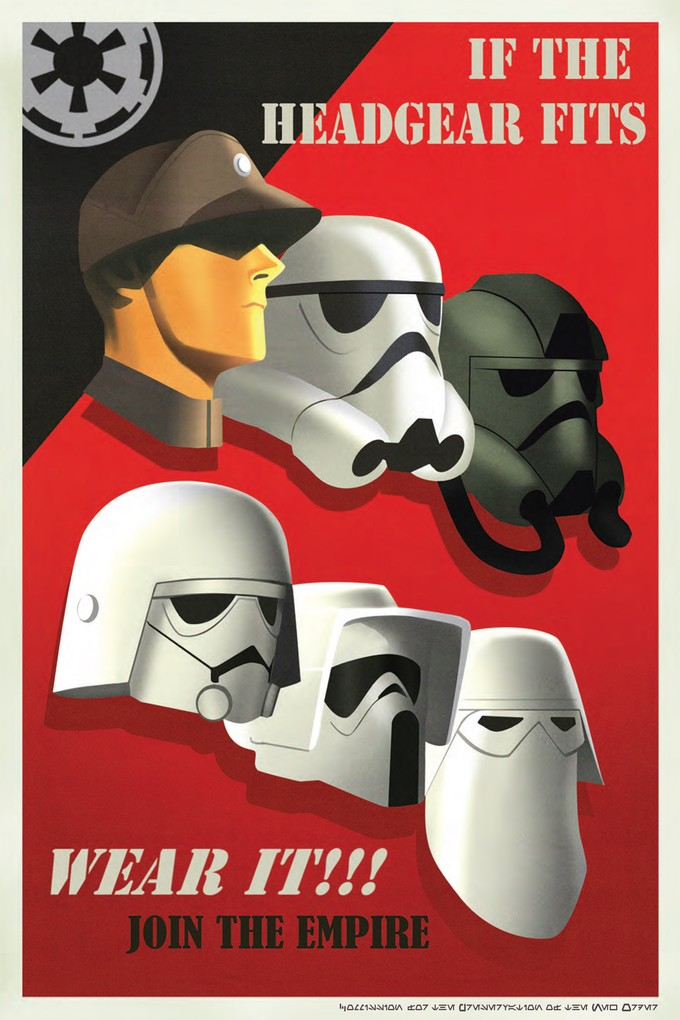 STAR WARS REBELS Imperial propaganda
