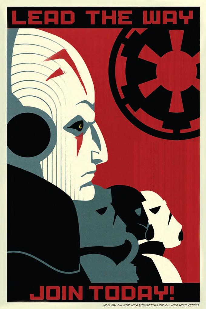 STAR WARS REBELS Imperial propaganda