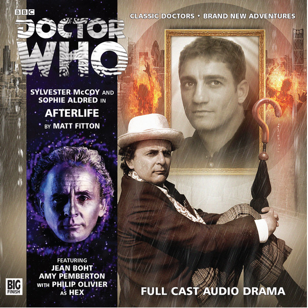 DOCTOR WHO: Afterlife Big Finish audio cover