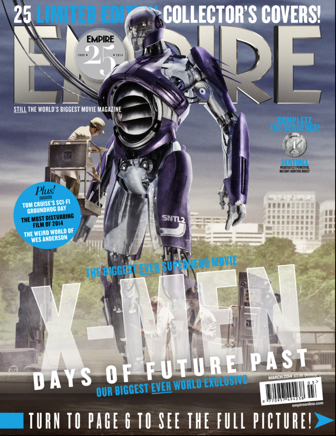 X-MEN: DAYS OF FUTURE PAST Empire cover variant