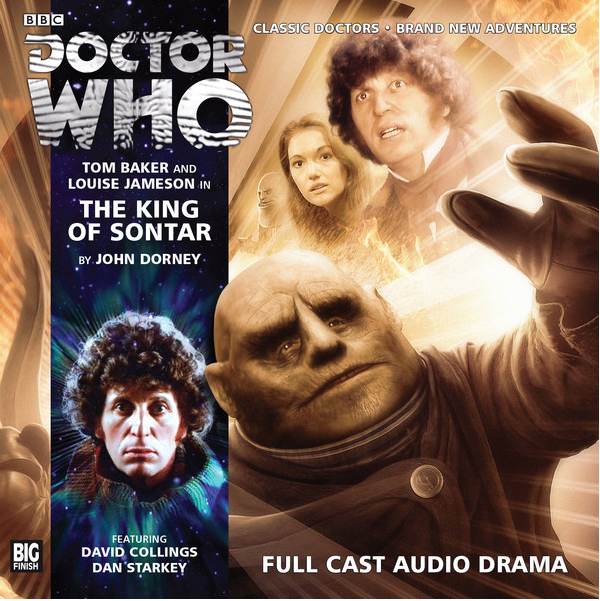 DOCTOR WHO: THE KING OF SONTAR Big Finish Audio cover