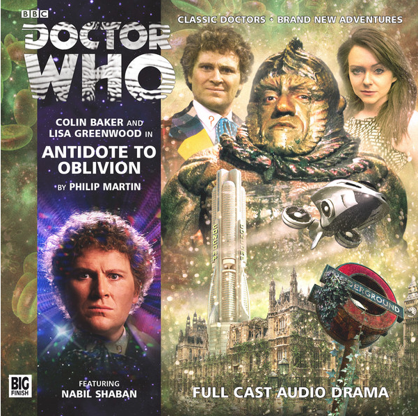 DOCTOR WHO: Antidote to Oblivion Big Finish audio cover