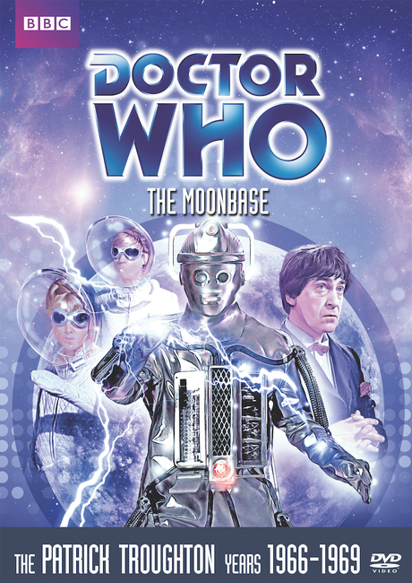 DOCTOR WHO: The Moonbase DVD cover