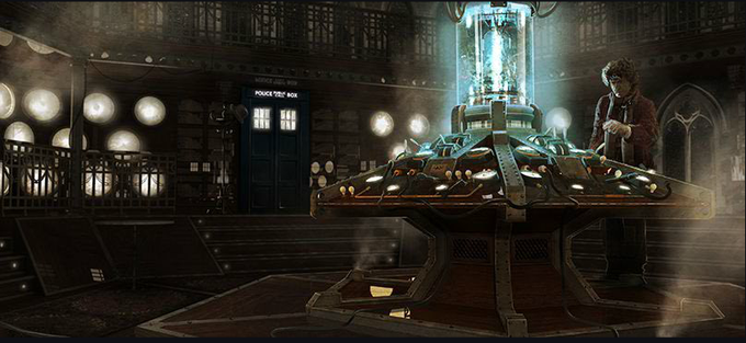DOCTOR WHO 2005 + concept art