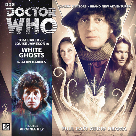DOCTOR WHO: WHITE GHOSTS Big Finish Audio Cover