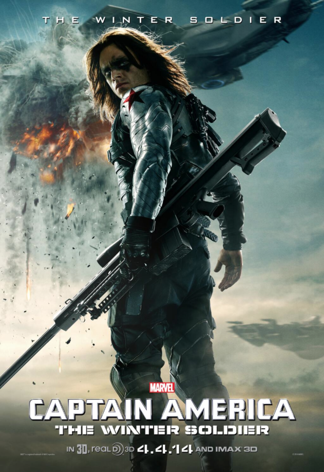 CAPTAIN AMERICA: THE WINTER SOLDIER - Winter Soldier Character Poster