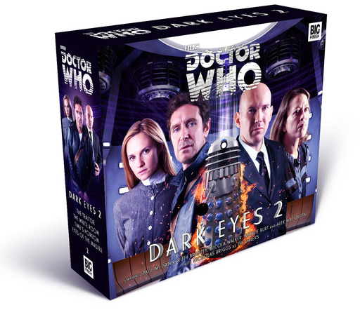 DOCTOR WHO: Dark Eyes Big Finish packaging