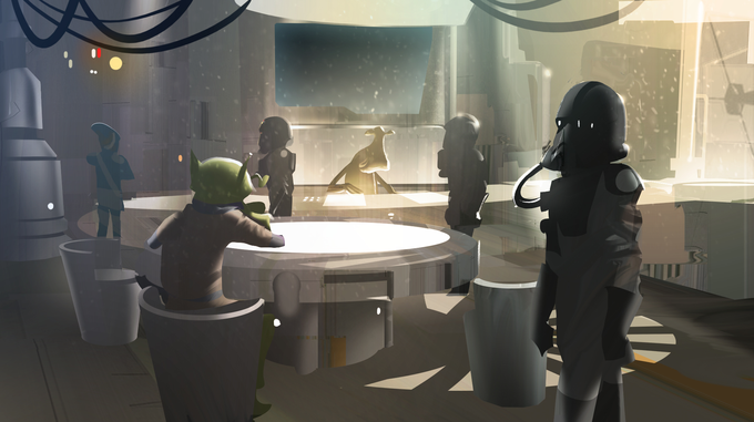 STAR WARS REBELS concept art