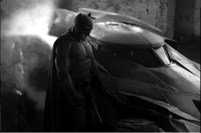 Affleck Batman / Batmobile